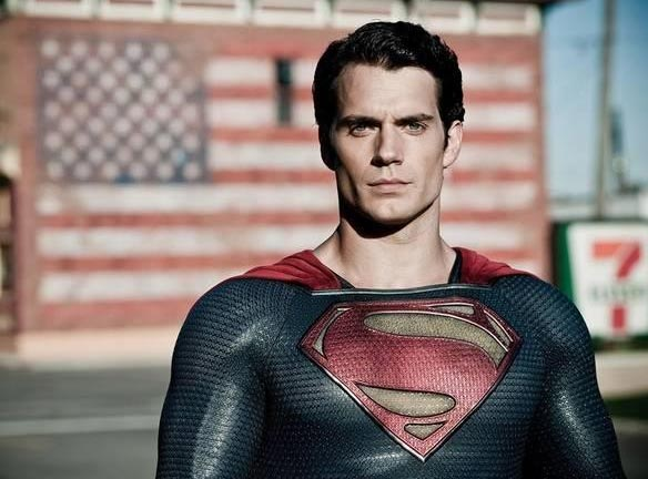 British Actor Henry Cavill shines as both Clark Kent and his alter ego.