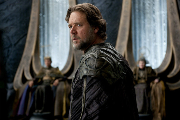 Russell Crowe gives a great performance as Superman's biological Father, Jor El.