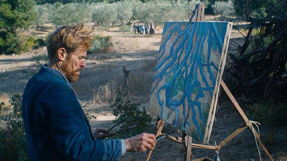 Willem DeFoe as Vincent Van Gogh in At Eternity's Gate film