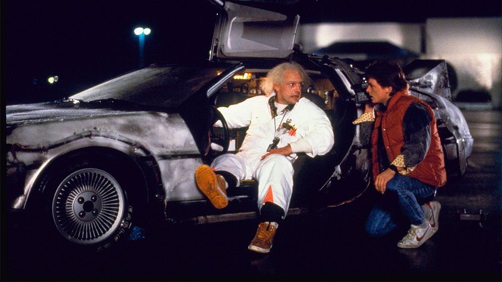 Back to the Future is a great 80s family movie about time travel.