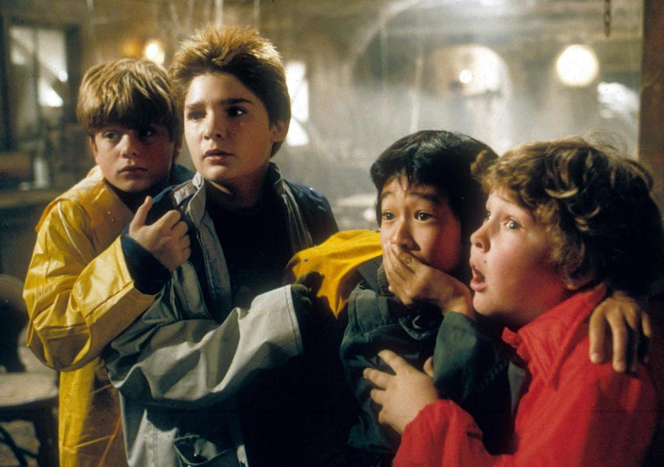 Your kids will love the thrills and spills of the classic 80s family movie The Goonies