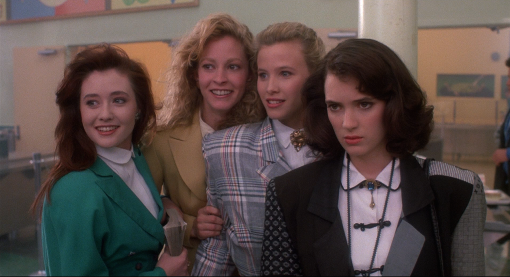 Wynona Ryder is Veronica in Heathers.
