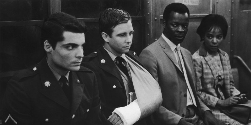Beau Bridges and Brock Peters star in the film The Incident