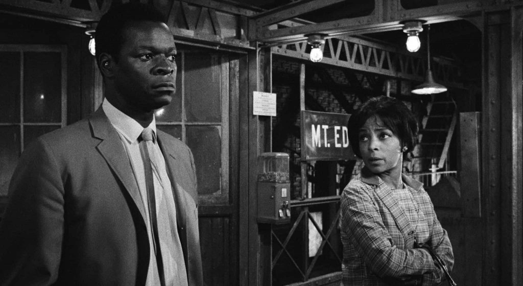 Brock Peters and Ruby Dee star in the film The Incident
