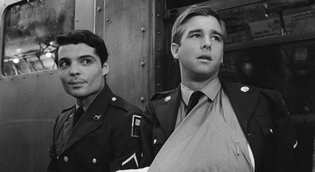 Beau Bridges and Robert Bannard play Felic and Phillip in the film The Incident