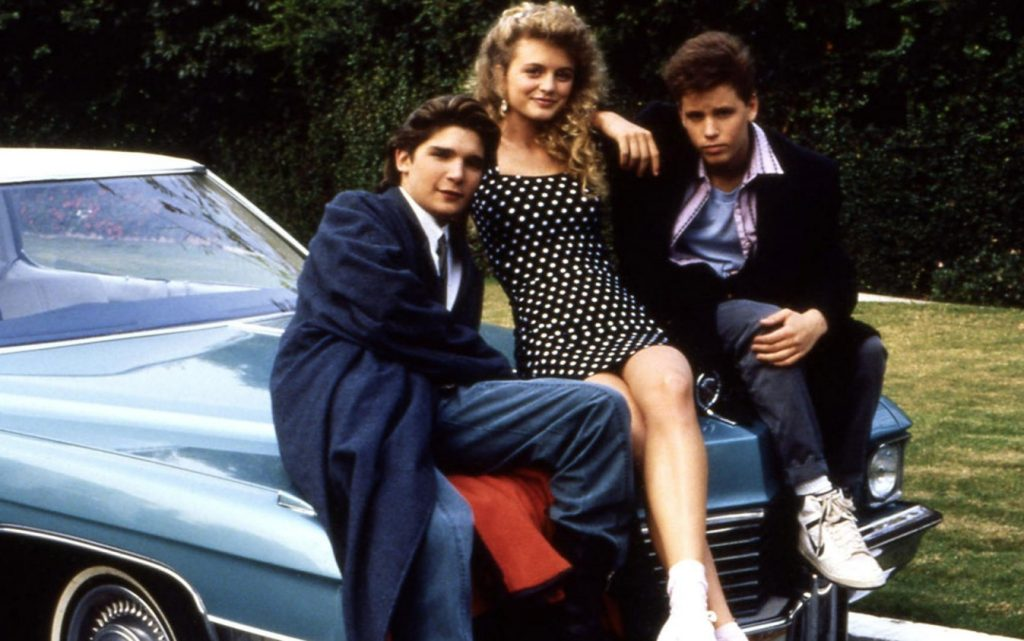 Corey Haim, Corey Feldman and Heather Graham star in license to Drive.