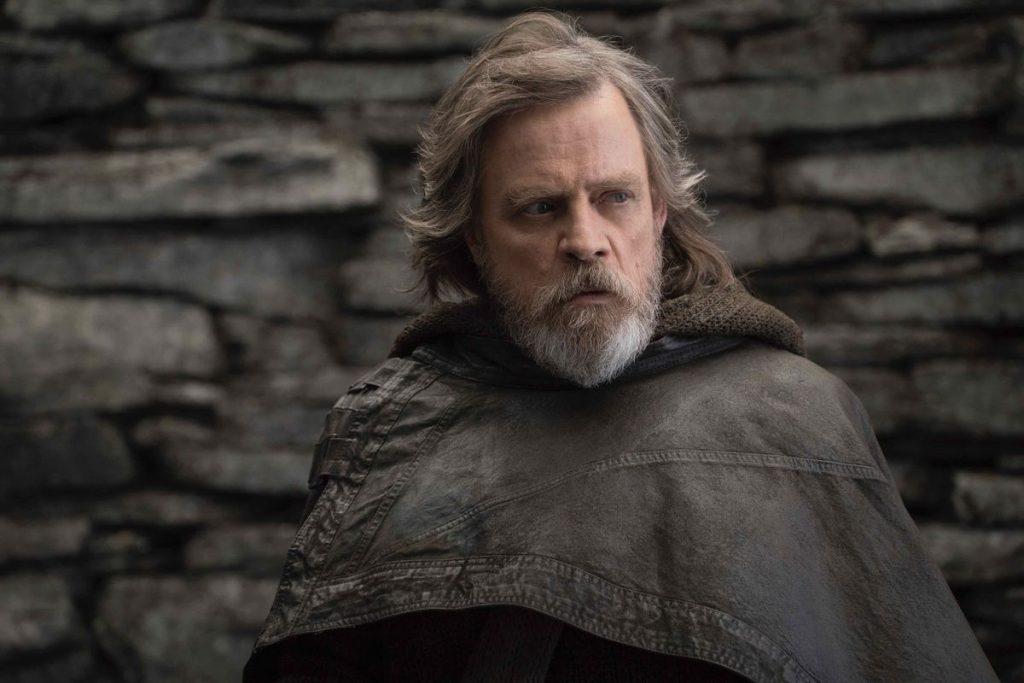 Mark Hamill as Luke Skywalker in the worst Star Wars film The Last Jedi