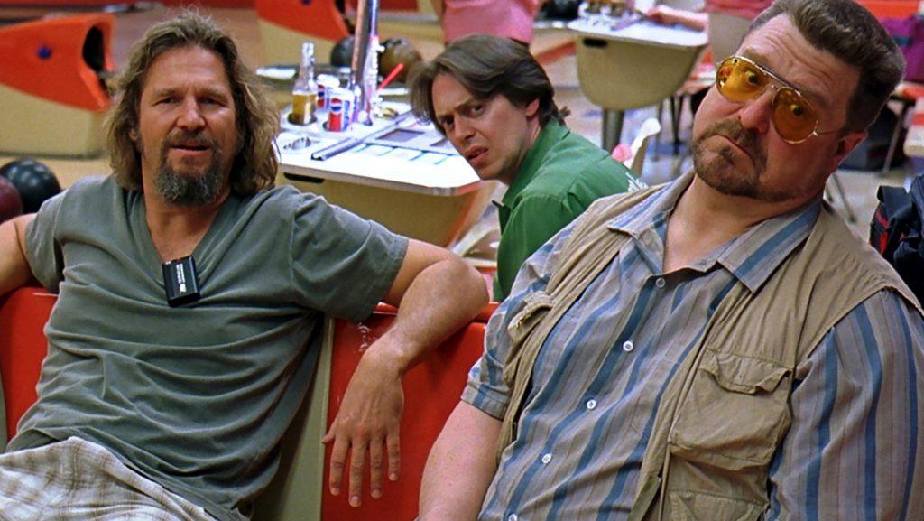 Jeff Bridges, Steve Buscemi and John Goodman in The Big Lebowski