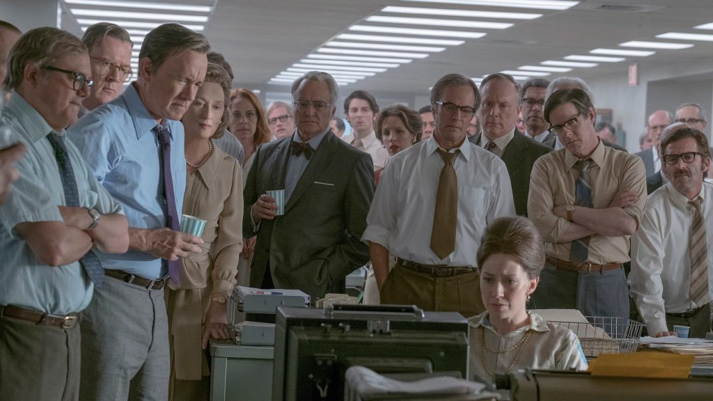 The Post - The journalists gather in the office