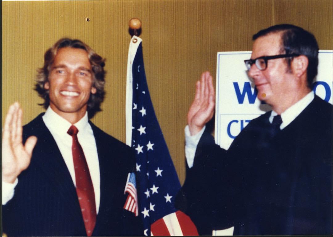 Arnie Goes American