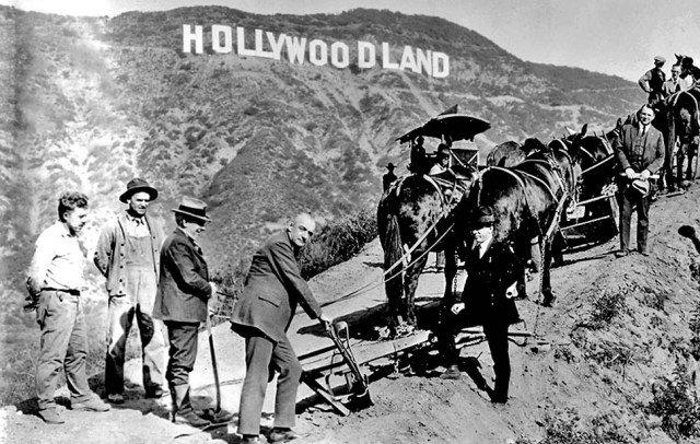Hollywoodland Torn Down
