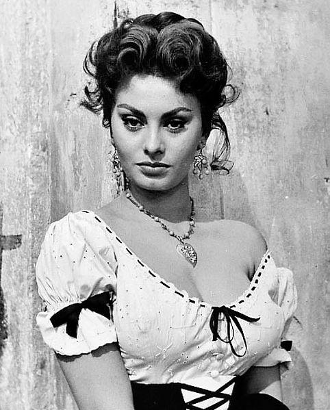 Sophia Loren Born