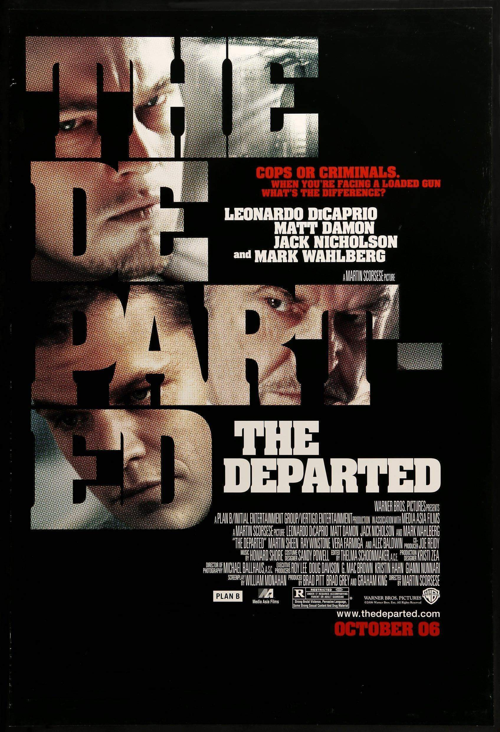 The Departed Premieres