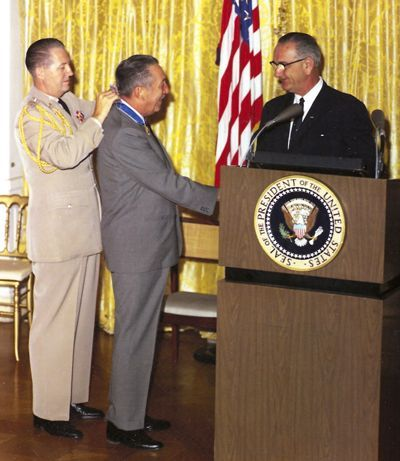 Disney Honoured at White House