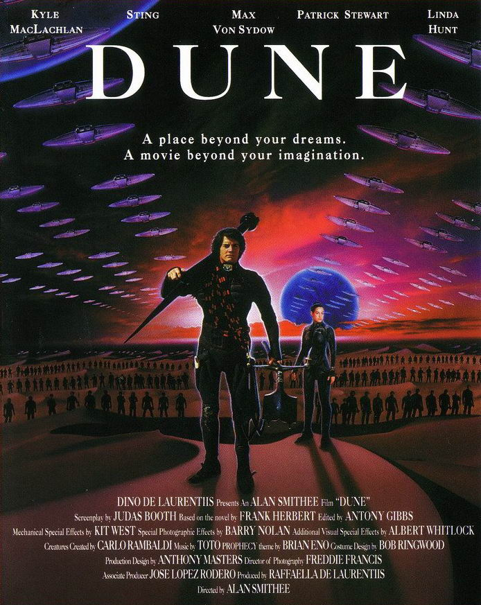 First Dune Film Released