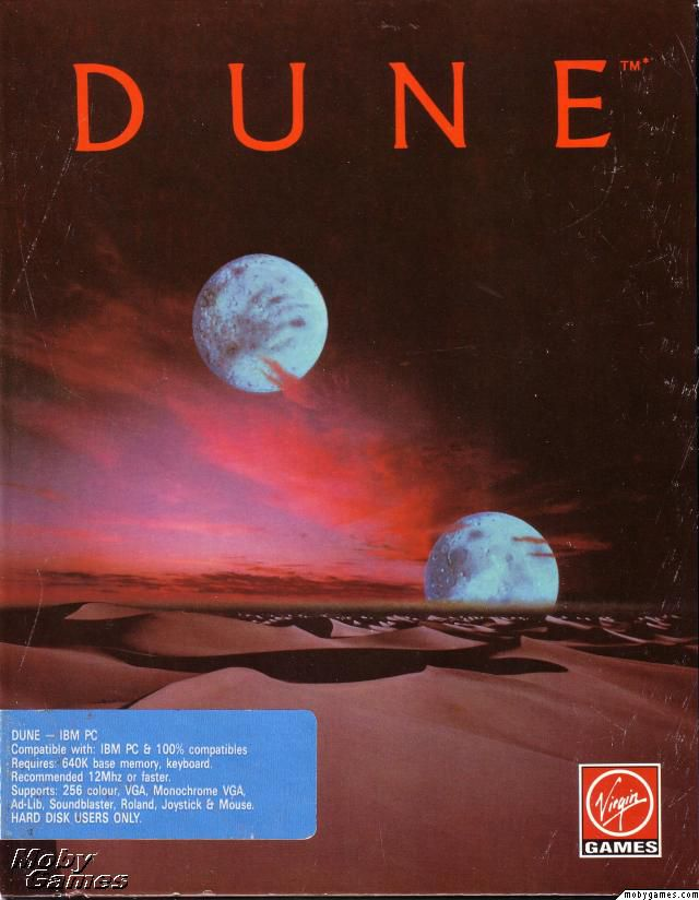 Dune Video Game Released