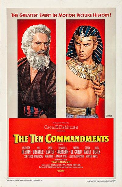The Ten Commandments Premiere