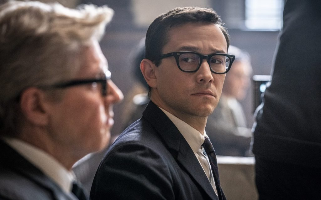Joseph Gordon-Levitt as the federal prosecutor in The Trial of the Chicago 7