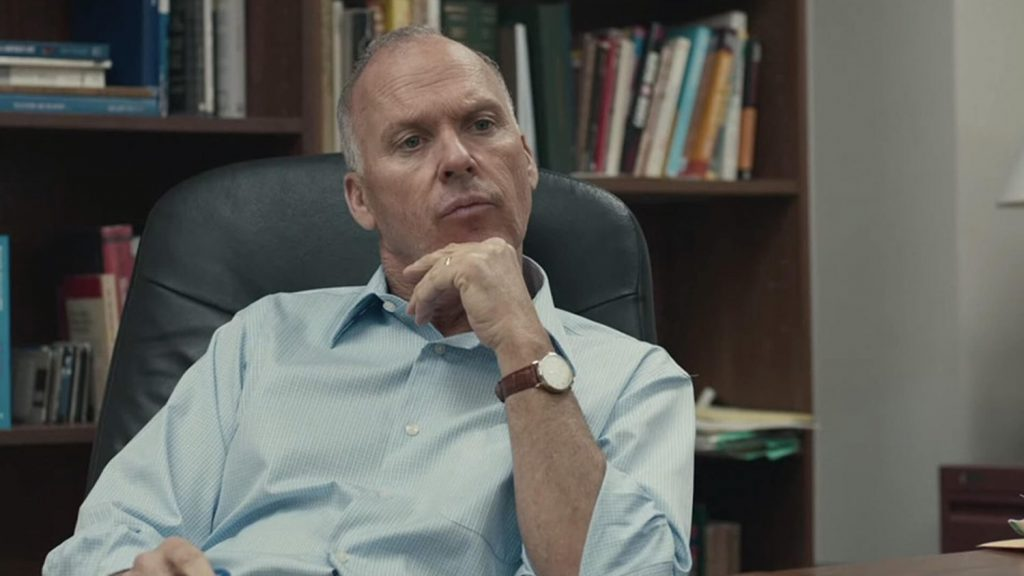 Michael Keaton as the previous Attorney General
