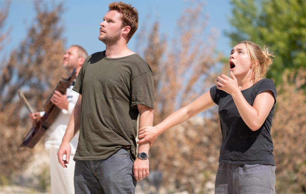 Florence Pugh & Jack Reynor in Midsommar. One of our favourite Horror films