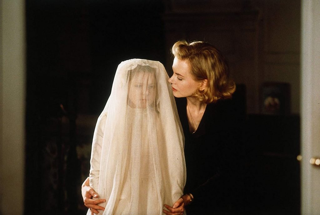 Nicole Kidman in one of the horror films about ghosts, The Others