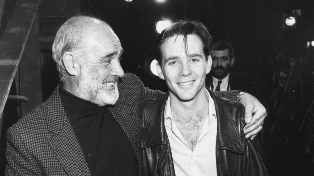 Sean Connery and his son Jason