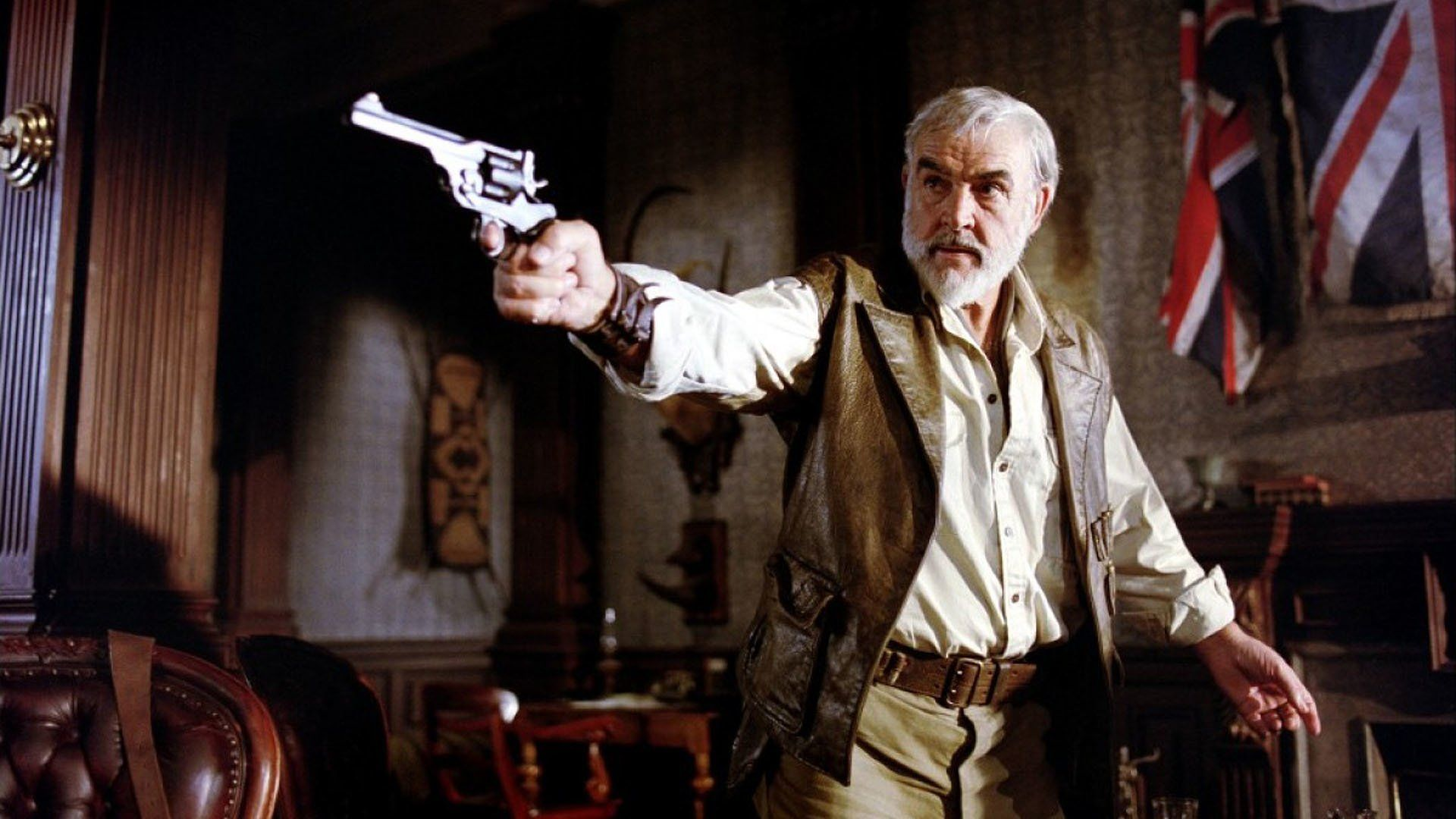 """Connery's last role as Allan Quatermain in """"The League of Extraordinary Gentlemen"""" (2003)"""