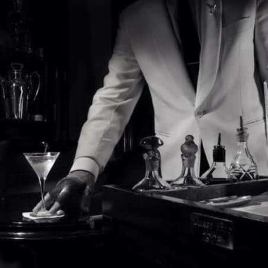 We raise a drink to you, Sir, a Vodka Martini, of course, shaken, not stirred.