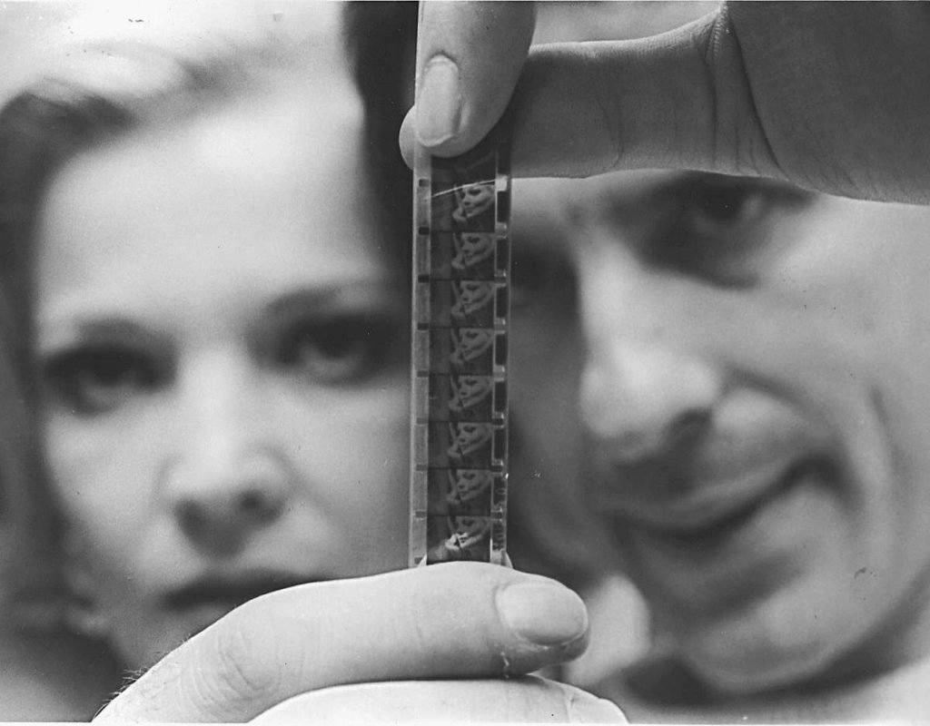 John Cassavetes and Gena Rowlands