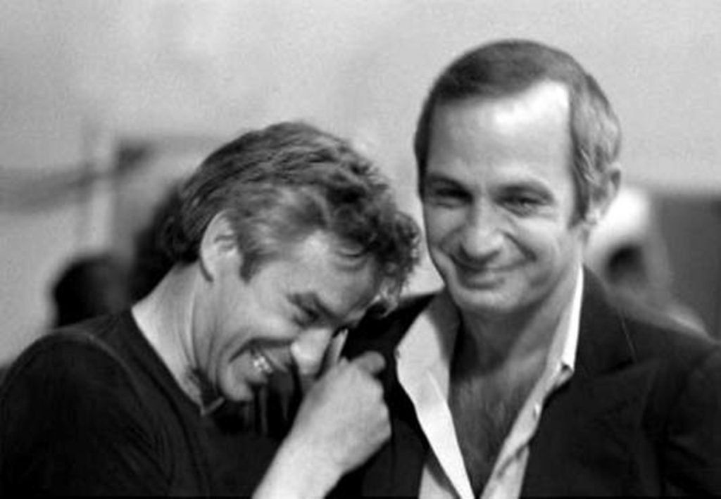John Cassavetes and Ben Gazzara