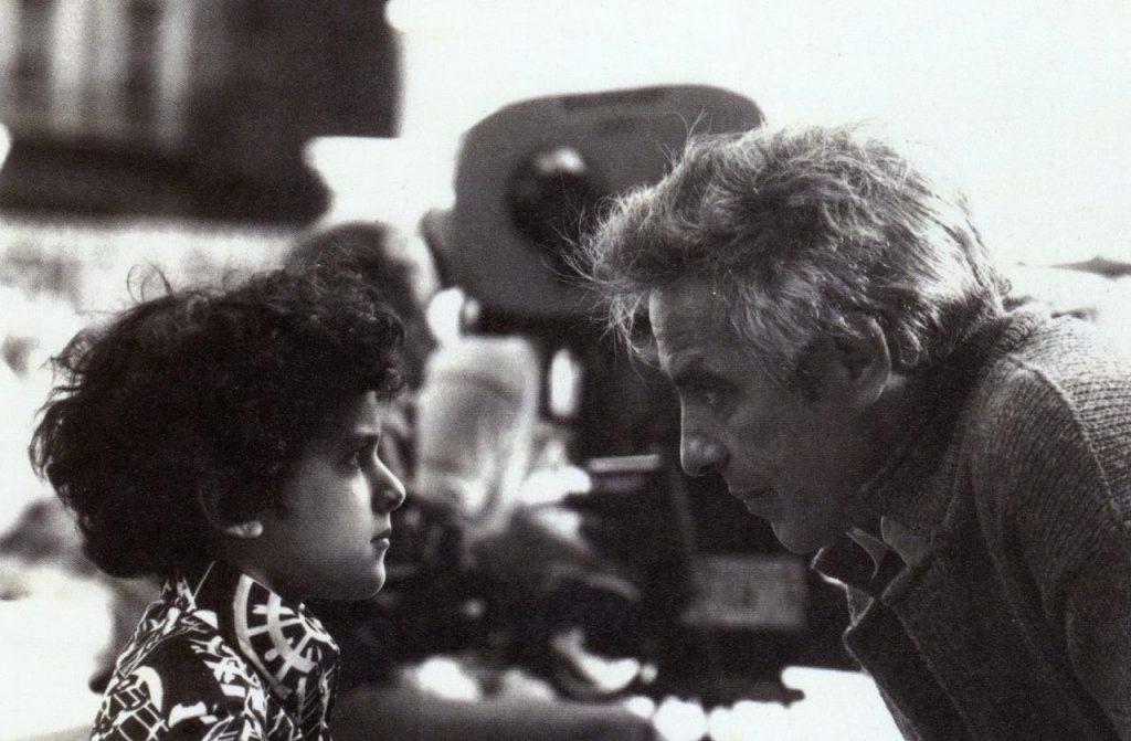 John Cassavetes on set filming Gloria (1981)