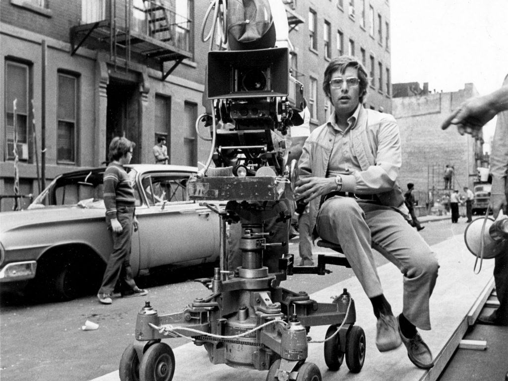 William Friedkin filming The French Connection