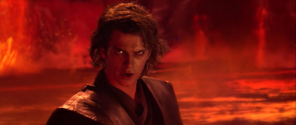 A shot from the movie Revenge of the Sith