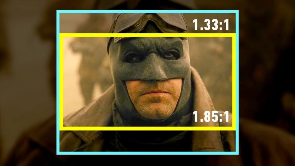 An Aspect Ratio comparison between the two film - Zack Snyder's Justice League (2021)