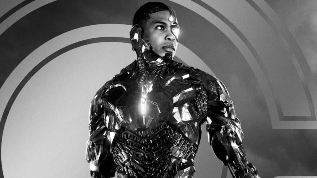 Cyborg in Zack Snyder's Justice League (2021)