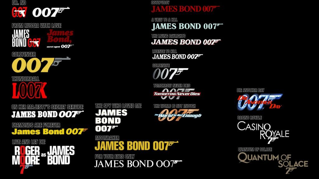 The James Bond brand over the years - however much it changes, it also stays the same.