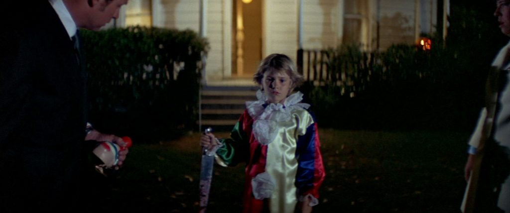 Michael Myers as a child in Hlloween 1978