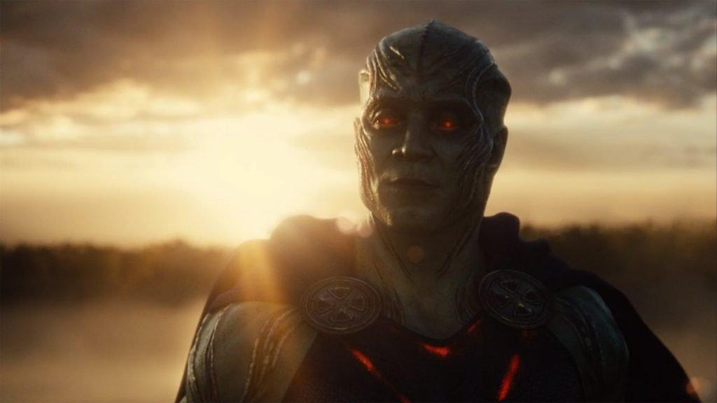 Martian Manhunter in Zack Snyder's Justice League (2021)