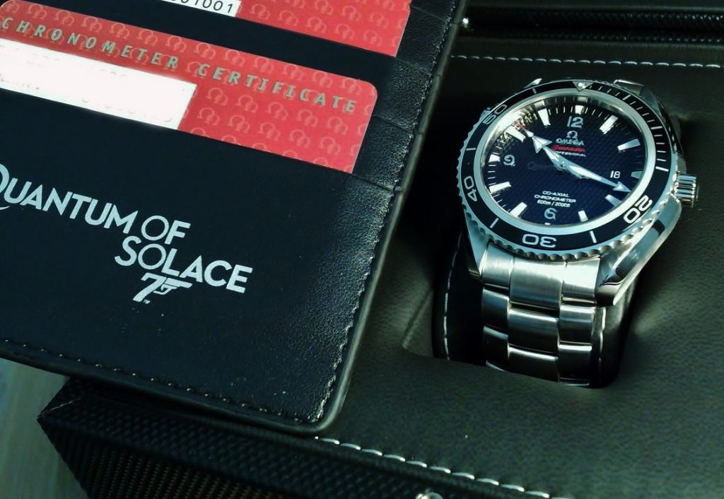 Omega 007 Seamaster Diver 300m