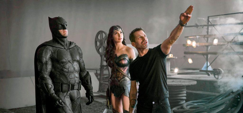 Zack Snyder on the set of  Zack Snyder's Justice League (2021)