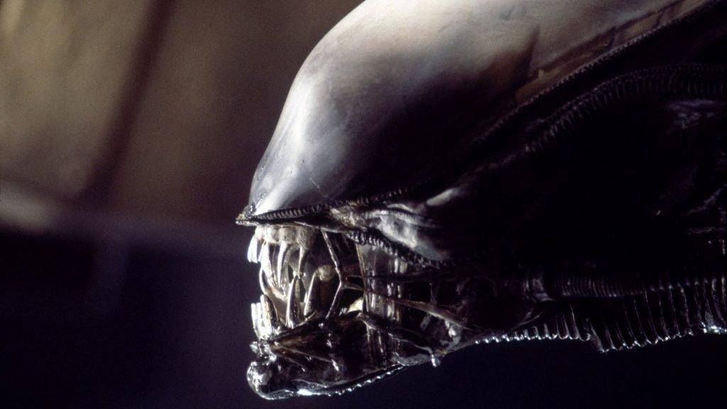 The xenomorph alien from Alien 1979