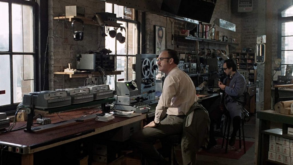 The Conversation 1974 starring Gene Hackman and John Cazale