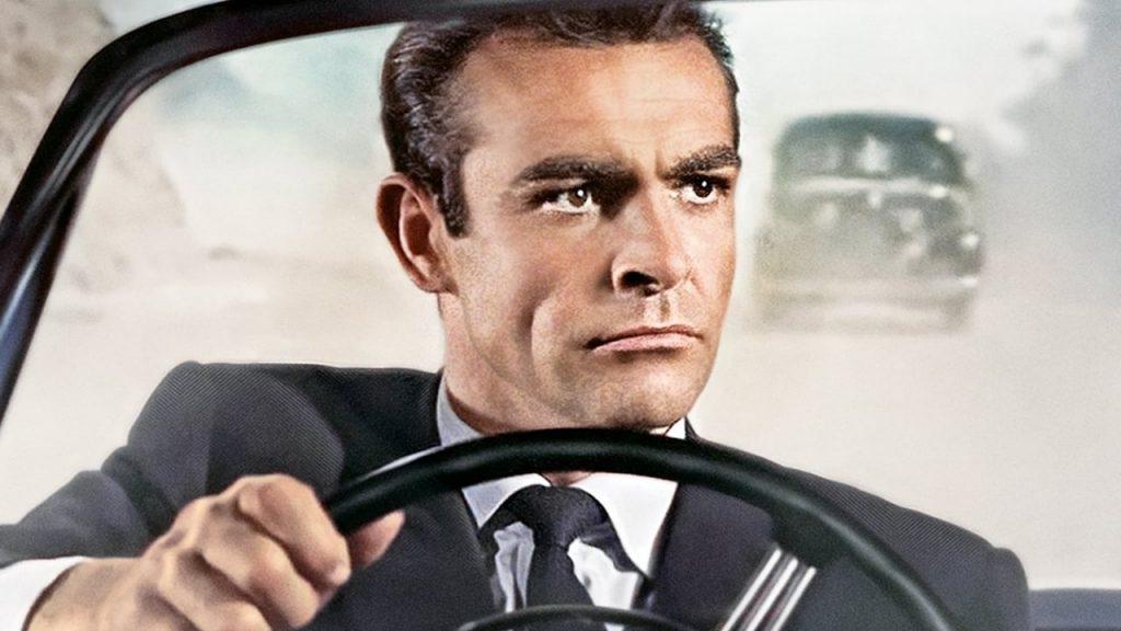 Sean Connery as James Bond in Dr. No (1962)