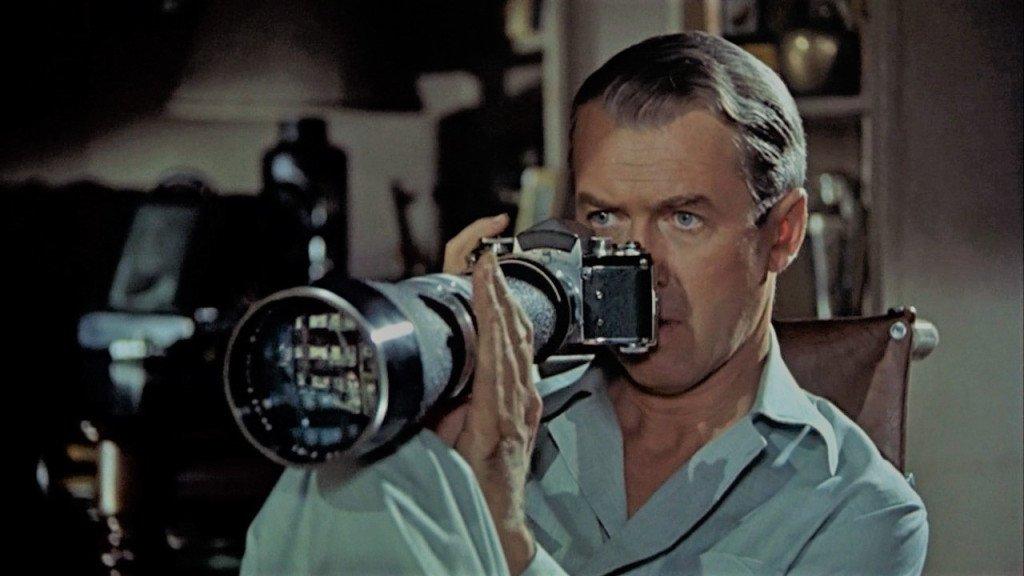 James Stewart in Rear Window (1954)