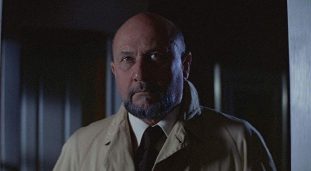 Donald Pleasenece as Doctor Loomis in Halloween 1978