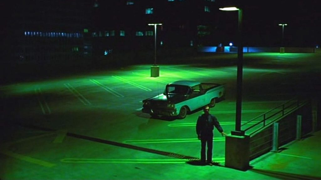 A shot from the movie Paris Texas