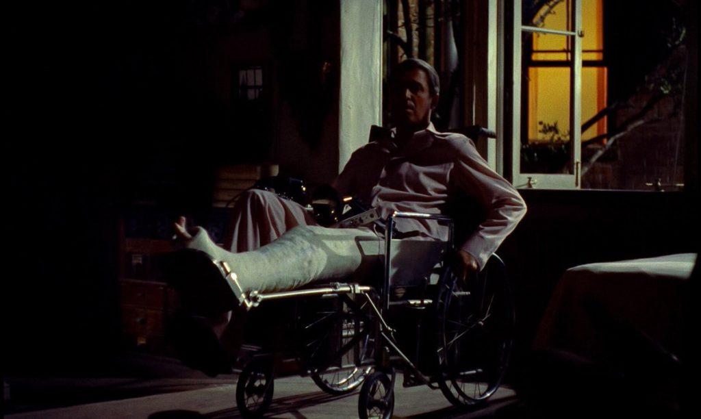 James Stewart as L.B. Jeffries in Rear Window (1954)