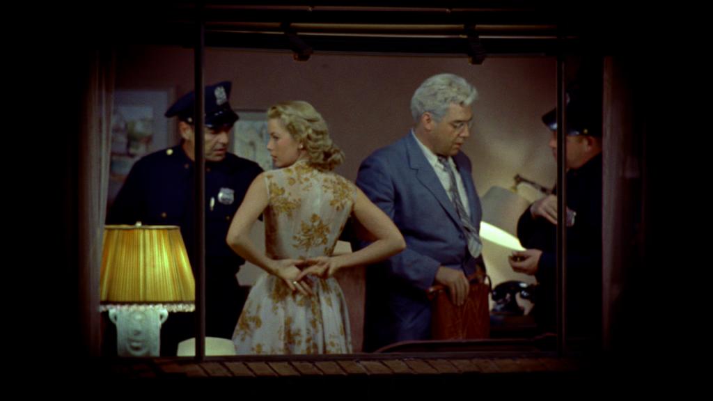 Grace Kelly in a scen from Rear Window (1954)