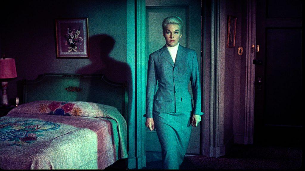 Kim Novak in the dream sequence in Vertigo (1958)