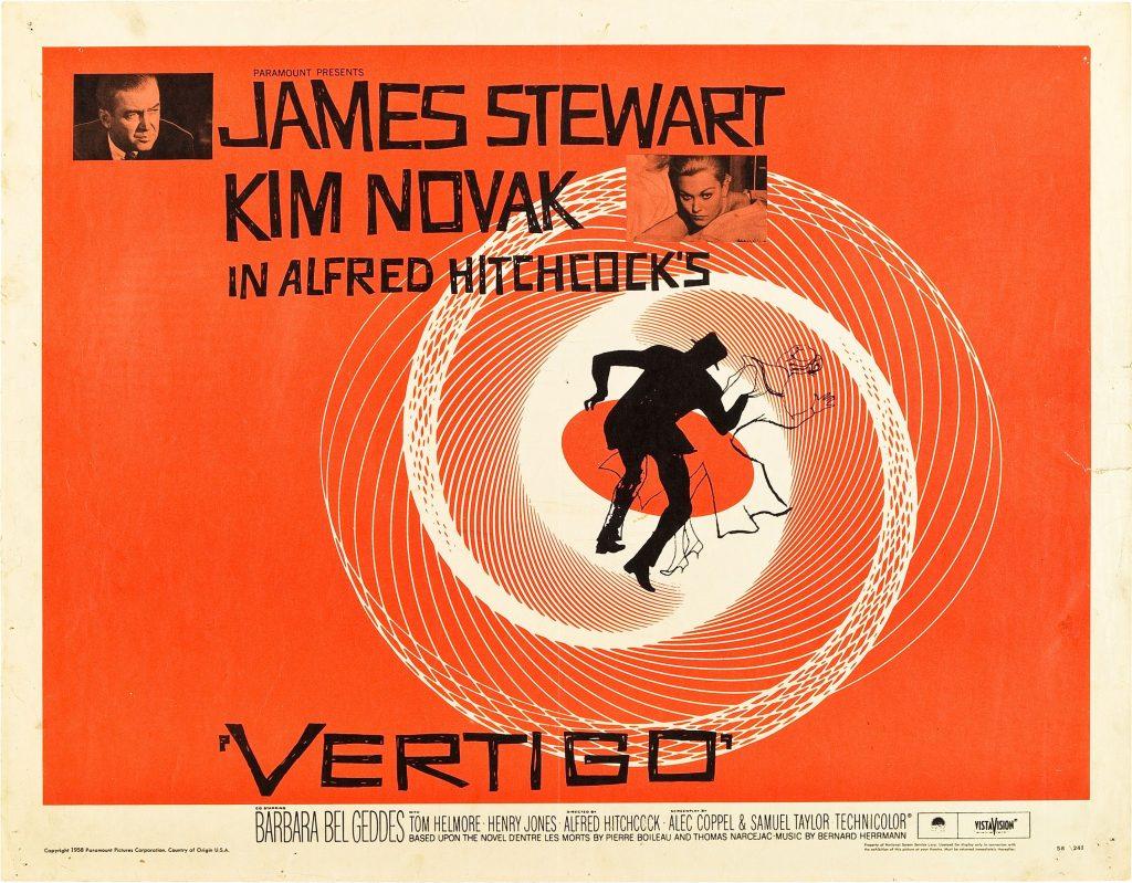 Vertigo Film Poster designed by Saul Bass